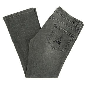 """7 For All Mankind Jeans """"A"""" Pocket U201219S Gray"""